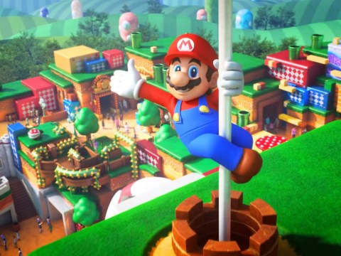 Super Nintendo World theme park opens next spring, in time for Tokyo Olympics