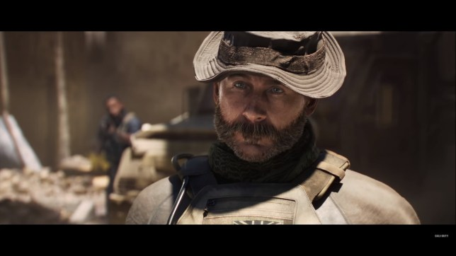 Call Of Duty: Modern Warfare's Captain Price