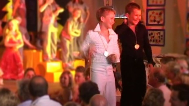 AJ Pritchard and his brother Curtis show off disco moves in adorable home video on Strictly Professionals