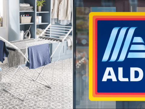 Aldi is selling a heated clothes airer for just £28.99 and it's perfect for drying clothes in cold weather