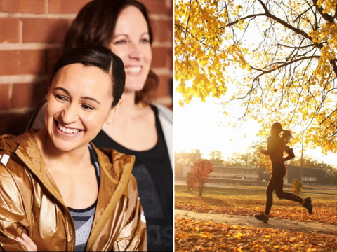 Jessica Ennis-Hill shares her top tips on how to keep exercising through autumn