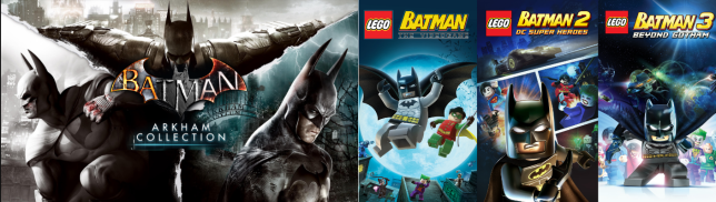 All the Batman games you'll ever need