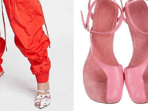 Fashion's latest abomination is here: big-toe heels