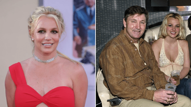 britney spears and dad Jamie Spears