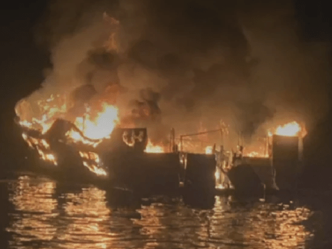 'At least 34 feared dead' in boat fire off California coast