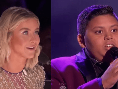 America's Got Talent judges Julianne Hough and Gabrielle Union fangirl over 12-year-old Luke Islam during semi-final