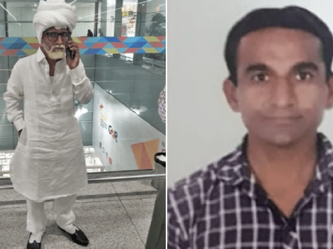 Man, 32, caught posing as 81-year-old as he tried to fly to US