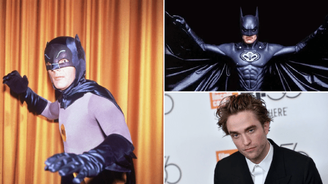 Everyone who has played Batman from Val Kilmer to Ben Affleck as he turns 80