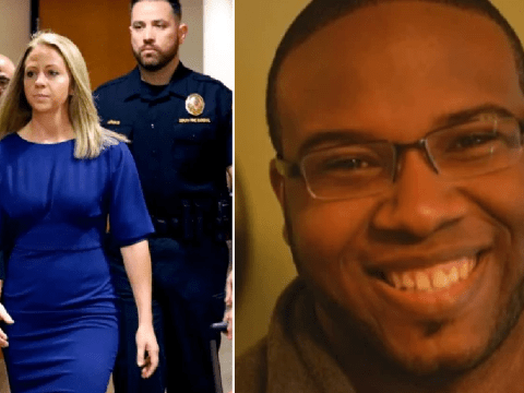 White cop sent sext saying she was 'super horny' then 'murdered' black neighbor in his apartment