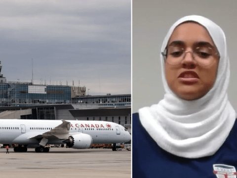 Muslim girl, 13, takes legal action against airline after worker ordered her to remove hijab
