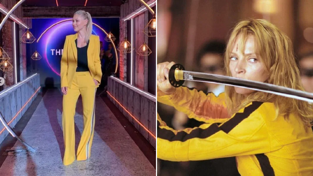 The Circle's Emma Willis launches series in stunning Kill Bill outfit and fans are loving it