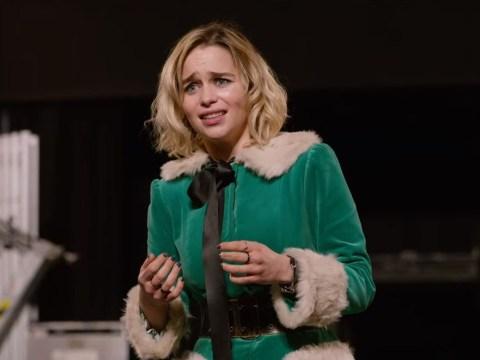 Emilia Clarke gives us goosebumps as she sings in emotional Last Christmas trailer