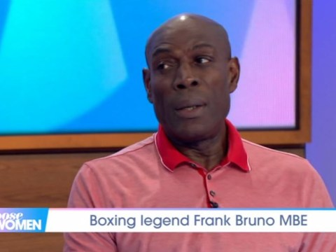 Frank Bruno opens up on male mental health as he recalls medication made him 'cuckoo'
