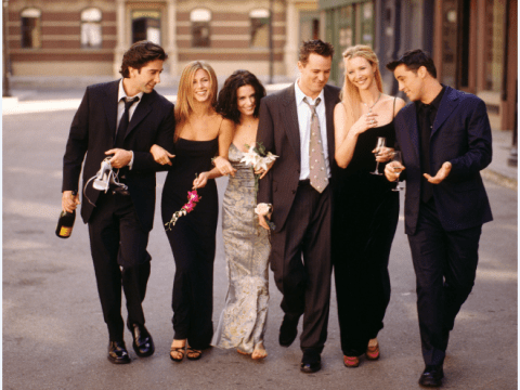 Jennifer Aniston and Matthew Perry really need Instagram as Friends cast celebrate 25th anniversary