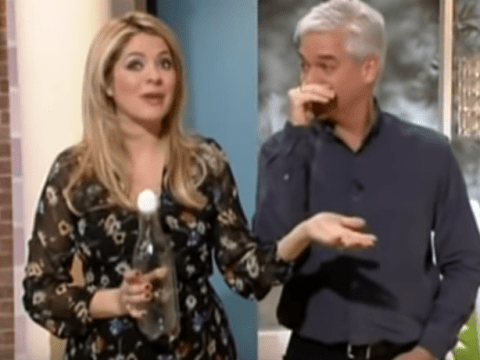 Holly Willougby confuses This Morning for Dancing On Ice in first live blunder