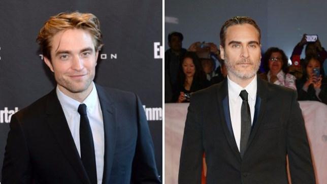 Robert Pattinson and Joaquin Phoenix