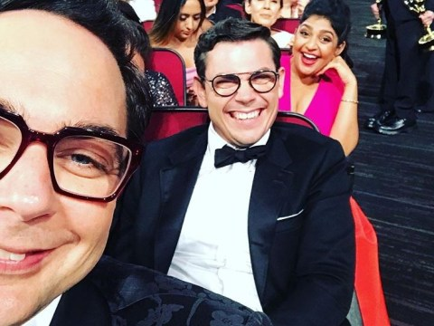 The Big Bang Theory's Jim Parsons still smiling after losing out on Emmy Award to State of The Union – which wasn't even nominated