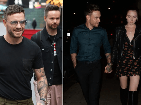Liam Payne looks pleased with himself after going public with love interest Maya Henry