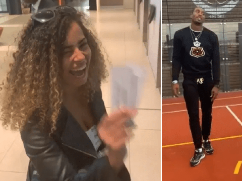 Love Island's Amber Gill takes her mind off Greg O'Shea by hanging out with bestie Ovie Soko