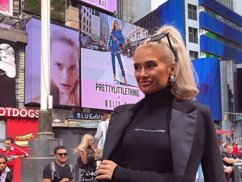 Love Island's Molly-Mae Hague lands Times Square billboard thanks to £500k PrettyLittleThing deal