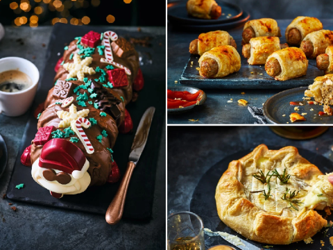 M&S Christmas food collection includes a festive Colin the Caterpillar and 19 other amazing treats