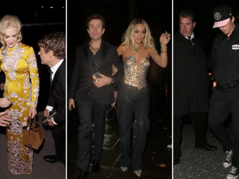 Nicole Kidman, Sam Smith and Naomi Campbell among stars partying until 5am at GQ Awards after-party