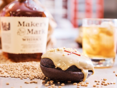 You can now buy doughnuts filled with bourbon – and we need them