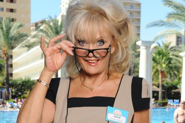 Sherrie Hewson in Benidorm