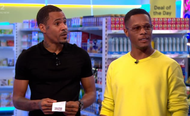 Romeo and Harvey from So Solid Crew