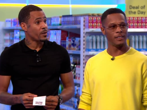 Harvey and Romeo from So Solid Crew turn up on Supermarket Sweep for more than 21 seconds