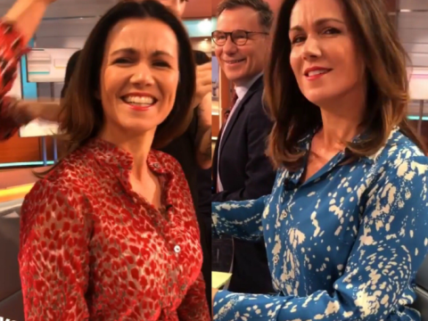 Good Morning Britain's Susanna Reid switches see-through dress over wardrobe malfunction fears