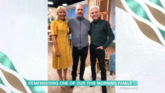 Holly and Phil with Charlie Hart