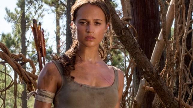 Alicia VBikander as Lara Croft