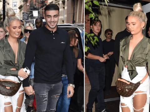 Love Island's Molly-Mae Hague and Tommy Fury are completely smitten in New York during whirlwind fashion week trip