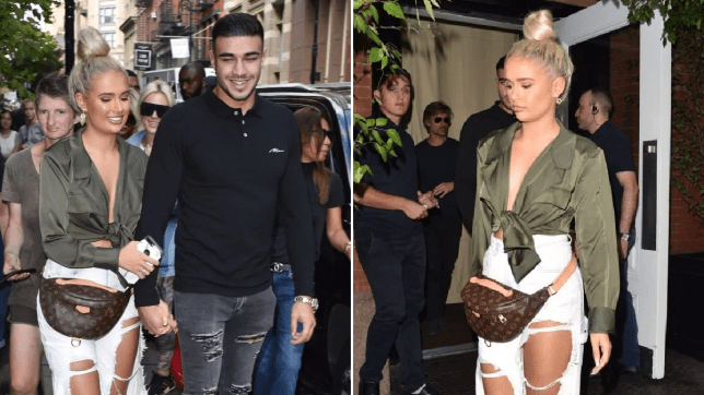Love Island Tommy Fury and Molly-Mae Hague in New York
