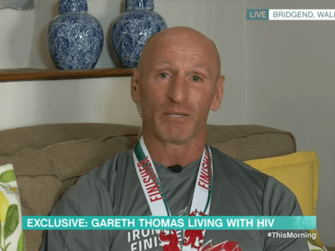Gareth Thomas breaks down in tears as he fights back to HIV blackmailers in impassioned speech