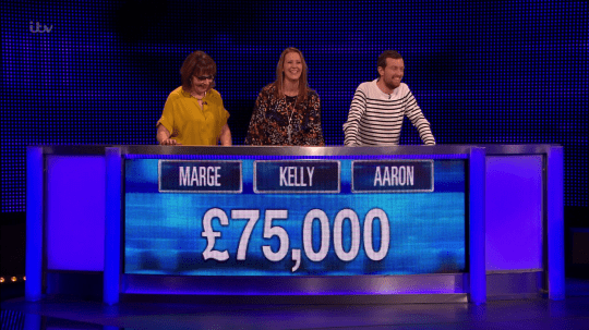 The winning team on The Chase