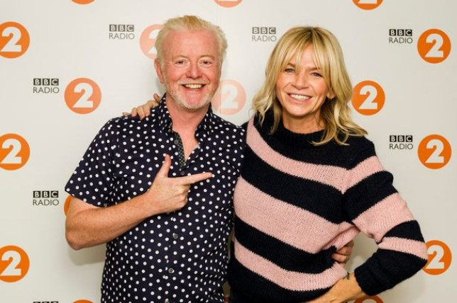 Zoe Ball's listeners drop by 1m