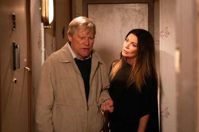 Roy Cropper and Carla Connor in Coronation Street