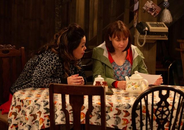 Karen Blick as Lydia Hart in Emmerdale