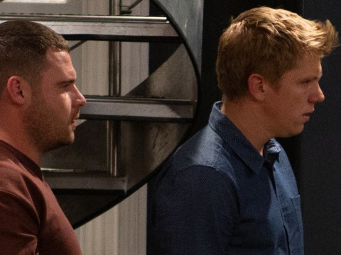 Emmerdale spoilers: Robert Sugden and Aaron Dingle flee tonight as rapist Lee dies