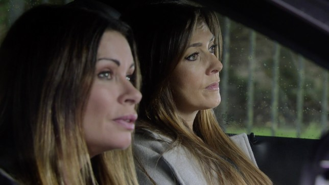 Michelle and Carla Connor in Coronation Street