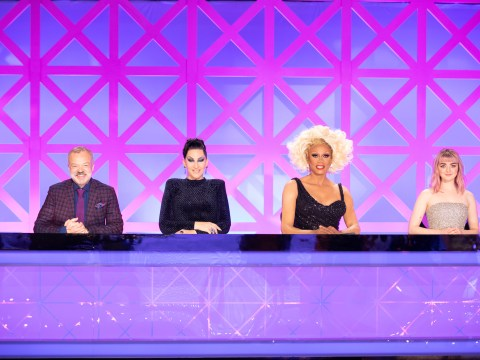 Who are the judges on RuPaul's Drag Race UK?