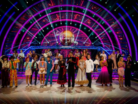 What time is Strictly Come Dancing's movie week on tonight?