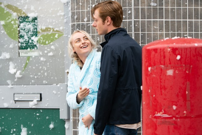 Daniel and Sinead in Coronation Street
