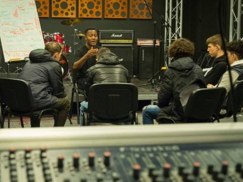 I help foster children tell their story through rap