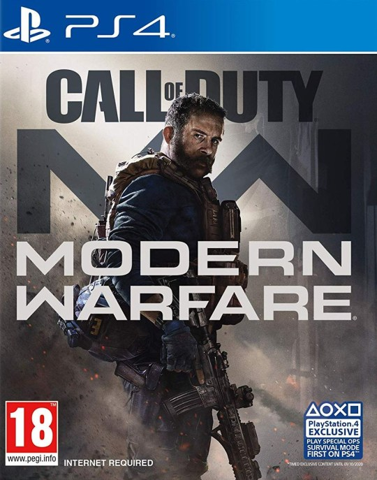 Call Of Duty: Modern Warfare box (pic: Activision)