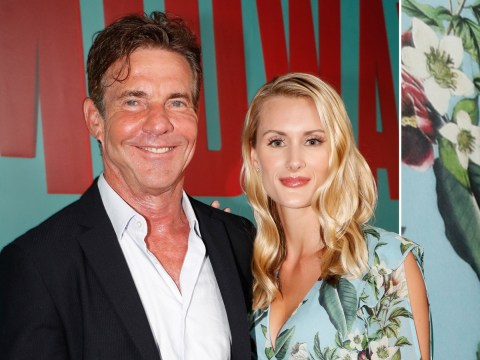 Dennis Quaid, 65, engaged to Laura Savoie, 26 – and even his Parent Trap co-star is throwing shade