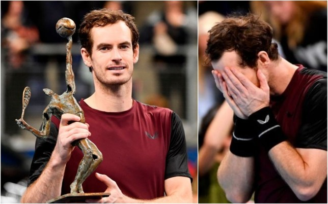 Andy Murray has completed a remarkable comeback to win his latest ATP title
