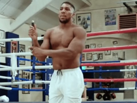 Andy Ruiz Jr reacts to Anthony Joshua slimming down for rematch